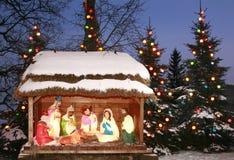 julkrubba Fotografering för Bildbyråer