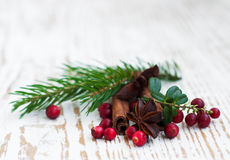 Julkryddor Arkivfoto
