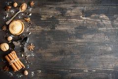 Julkryddor för kakor Fotografering för Bildbyråer