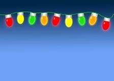 Jullampor Arkivbild