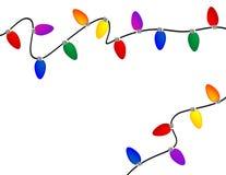 jullampor Fotografering för Bildbyråer