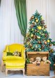 Julleksak för julgran Royaltyfria Bilder