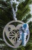 Julleksak - gran-träd Fotografering för Bildbyråer