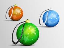 Julleksaker stock illustrationer