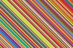 Julljus klubbamodell Randig diagonal bakgrund med lutade linjer Strimmig bakgrundvektorillustration royaltyfri illustrationer