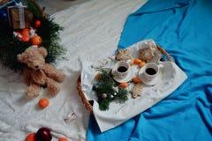Jullunch Arkivfoto