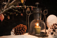 Jullykta Fotografering för Bildbyråer