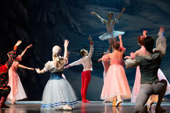 Julmagi-fantasi balett nötknäpparen royaltyfria bilder
