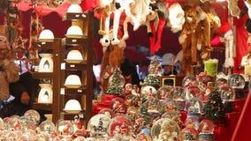 Julmarknad lager videofilmer