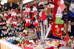 Julmarknad Arkivbilder