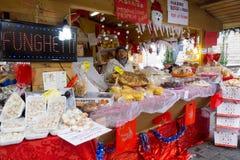 Julmarknad i Italien Royaltyfri Foto