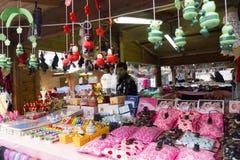 Julmarknad i Italien Royaltyfri Bild