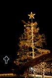 Julmarknad i Munich, Tyskland Royaltyfri Fotografi