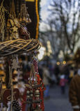 Julmarknad - Mercatini di Natale: bancarellenatalizie fotografering för bildbyråer