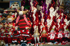 Julmarknadsdetaljer Fotografering för Bildbyråer