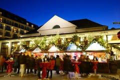 Julmarknadskasino Baden-Baden 2016 Arkivbild