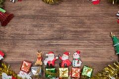 Julnalle Santa Claus Arkivfoto