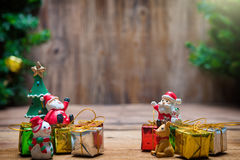Julnalle Santa Claus Royaltyfri Fotografi