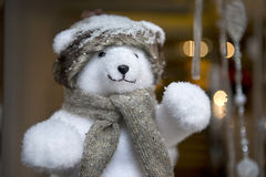 Julnallebjörn Royaltyfri Bild