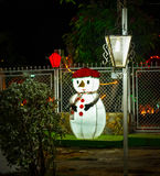 Julnatt på maracaibo royaltyfria foton