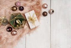 Julobjektordning Royaltyfria Bilder