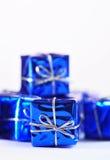Julpackar Fotografering för Bildbyråer