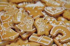 Julpepparkakakakor Royaltyfri Bild