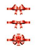 Julpilbågar royaltyfri illustrationer