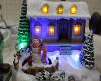 Julplats Arkivbild