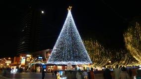 Julplats i Tama, Tokyo stock video