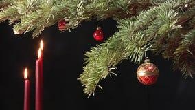 Julplatsen, sköt fortfarande stock video