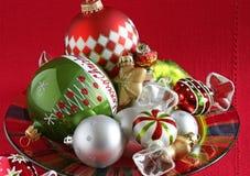 Julprydnader Arkivfoto