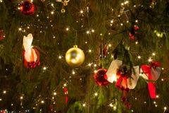 Julprydnader Arkivfoton