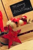 Julprydnader för trädet Arkivfoto