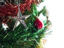 Julpynt på tree Arkivbild