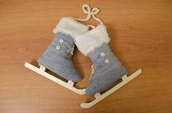 Julpyntskridskor Fotografering för Bildbyråer