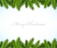 Julram med granträdet vektor illustrationer