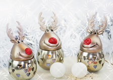 Julren på whit Royaltyfria Bilder
