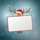 Julrenbakgrund Royaltyfri Fotografi