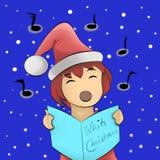 Julsång Arkivbild