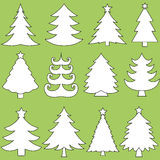 julsamlingstrees Royaltyfri Bild