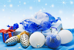 julsammansättning Arkivfoton