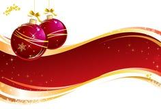 julsammansättning vektor illustrationer