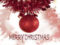 julsammansättning Arkivbild