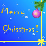 Julsammansättning Royaltyfri Foto