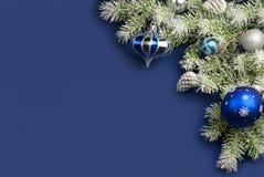 Julsammansättning för hälsningkort. Arkivfoton