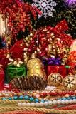 julskärm Royaltyfri Fotografi