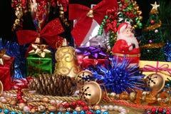 julskärm royaltyfria foton