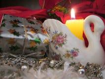 Julskärm Royaltyfri Bild