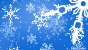 Julsnöflingabakgrund royaltyfri illustrationer